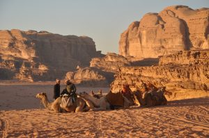 wadi rum at work